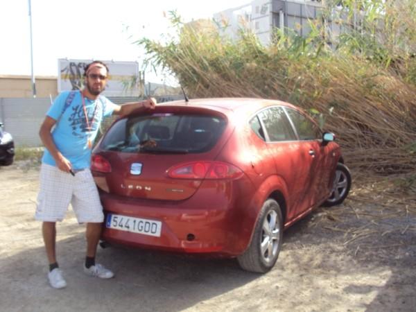In Spagna in auto