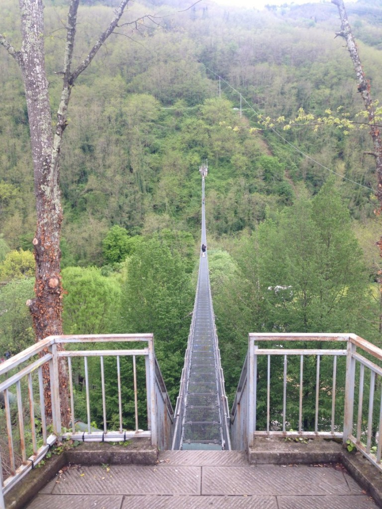 Ponte Sospeso a San Marcello Pistoiese
