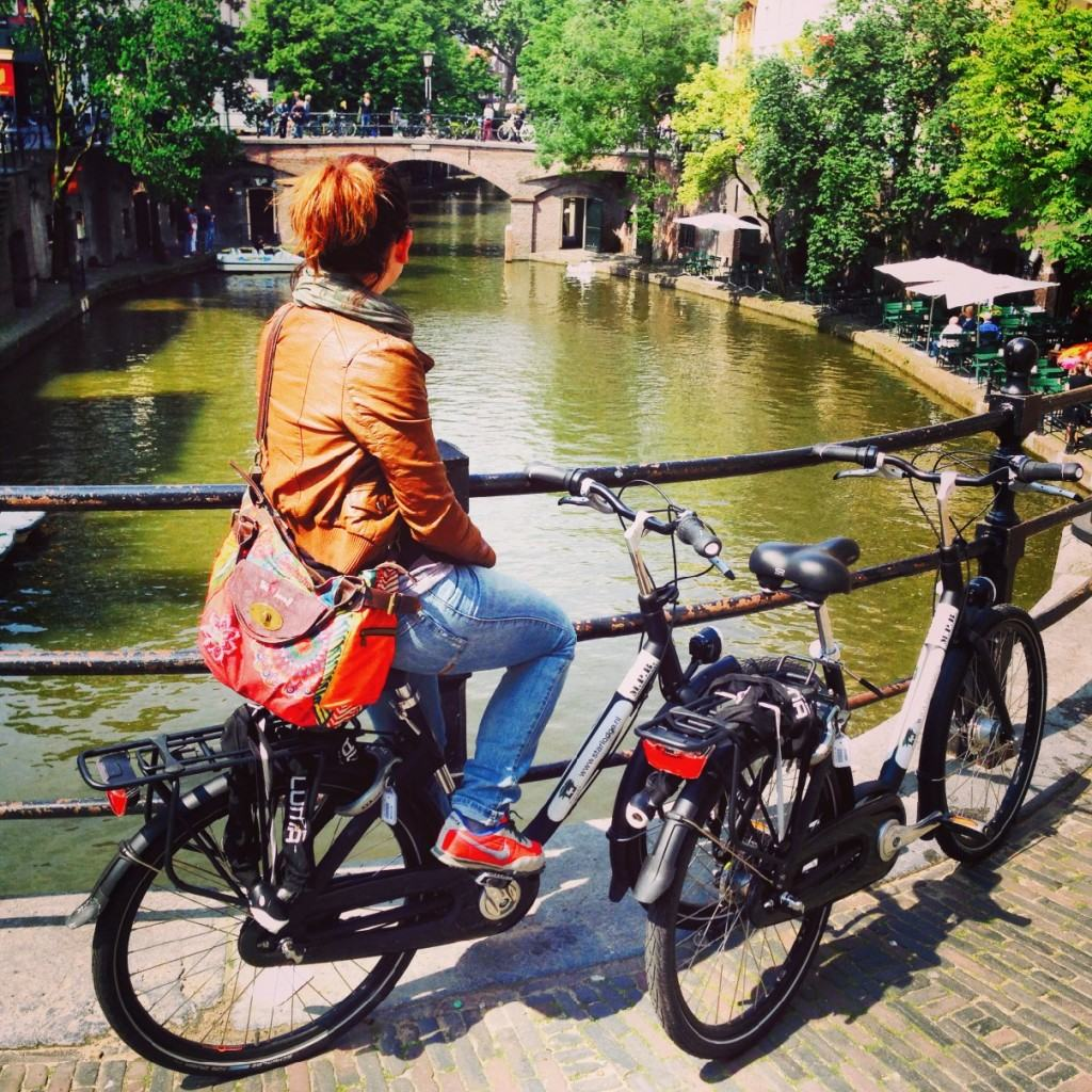 Utrecht in bici