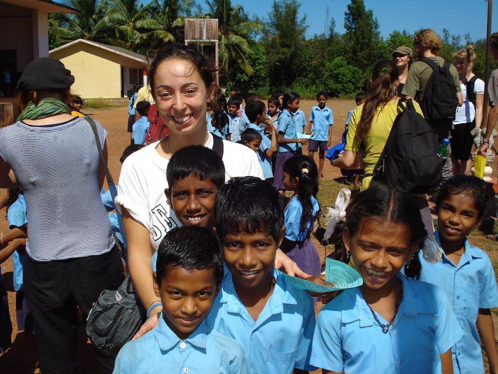 Volontariato India del sud