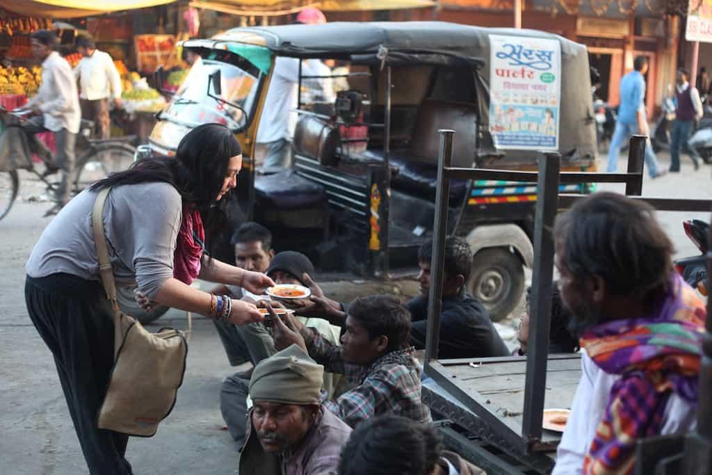 India, volontariato con Mera Dil Onlus