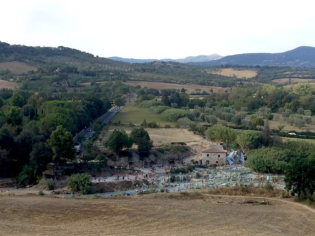 Saturnia, terme libere in Toscana