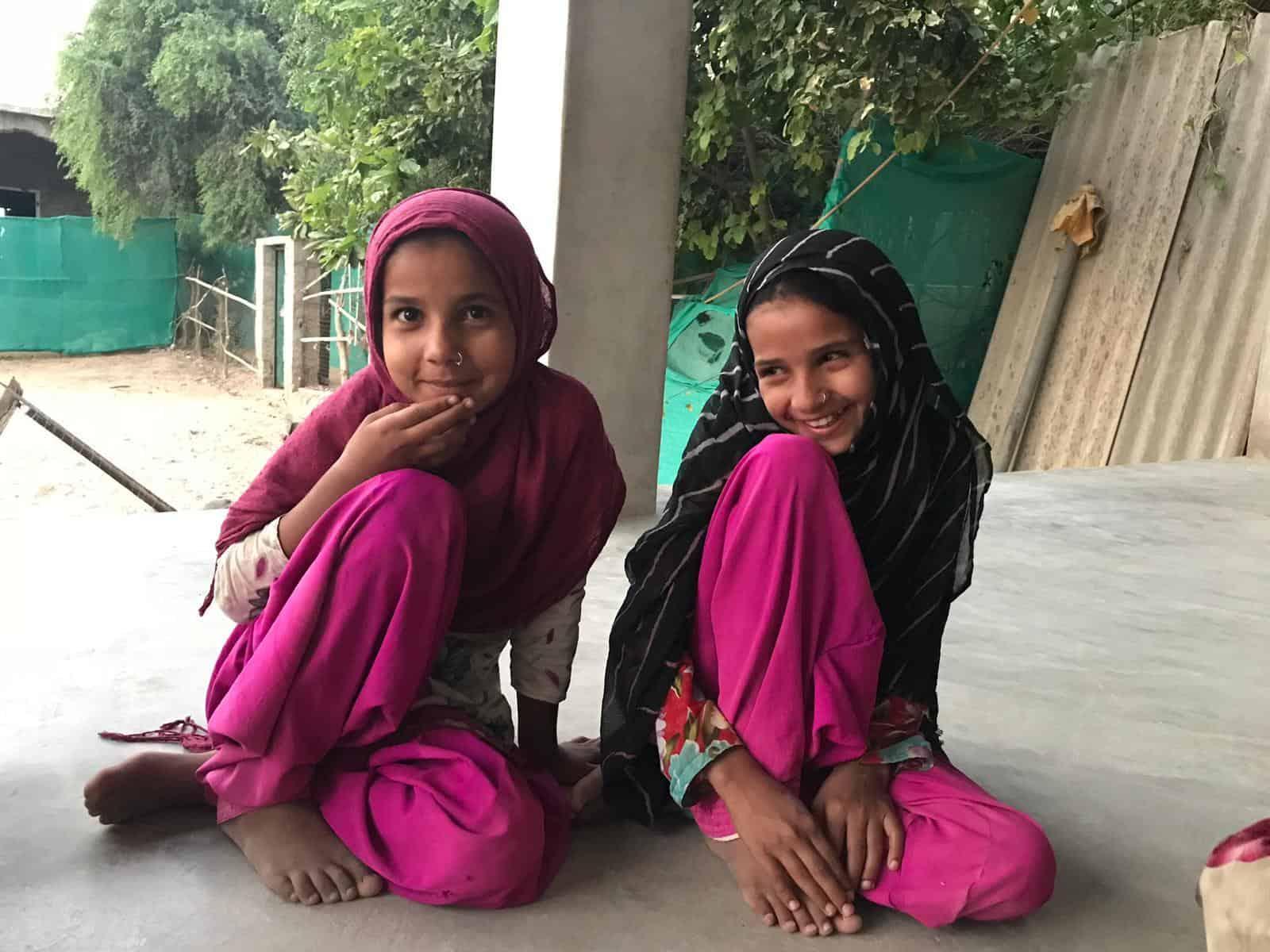 Scuola Madrasa Hanfiya, volontariato in India