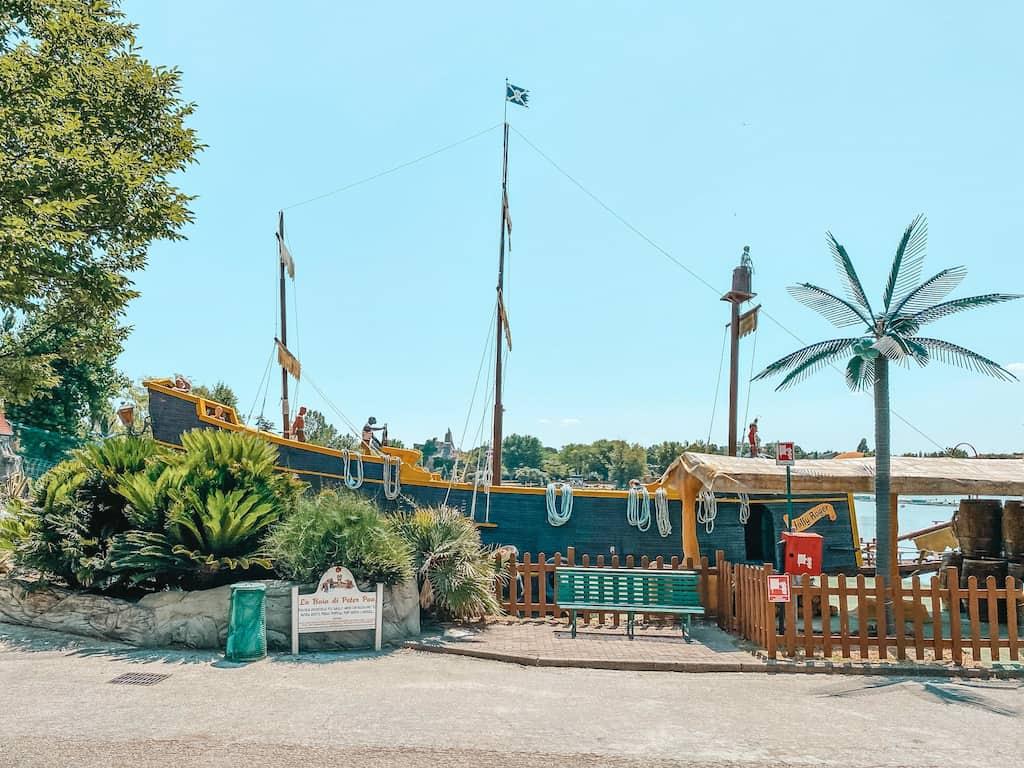 attrazione del parco divertimenti