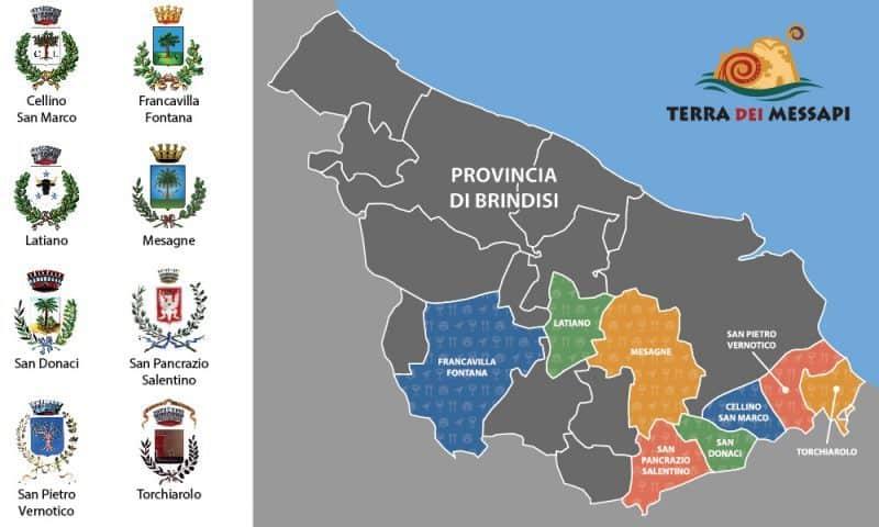 provincia di Brindisi, Puglia